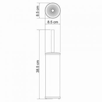 Щетка для унитаза WasserKRAFT K-1047