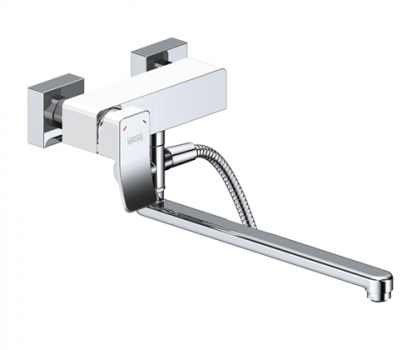 Смеситель для ванны с длинным изливом WasserKRAFT Aller 1062LW