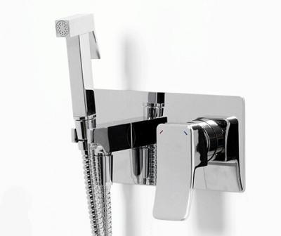 Встраиваемый смеситель для душа с гигиенической лейкой WasserKRAFT Aller 10638