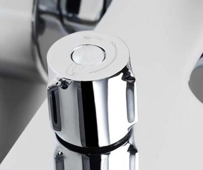 Смеситель для ванны с коротким изливом WasserKRAFT Lossa 1201