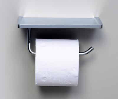 Держатель туалетной бумаги с полочкой для телефона WasserKRAFT K-1325
