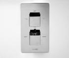 Термостатический смеситель для ванны и душа WasserKRAFT Alme 1544 Thermo