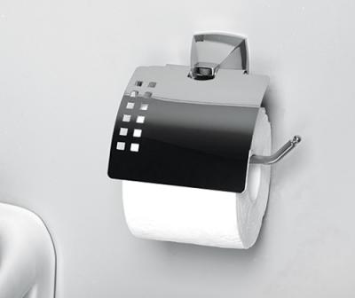 Держатель туалетной бумаги с крышкой WasserKRAFT Wern K-2525