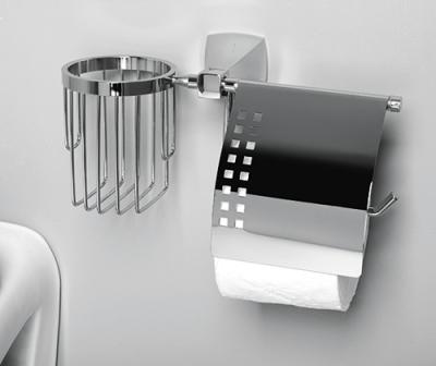 Держатель туалетной бумаги и освежителя WasserKRAFT Wern K-2559