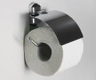 Держатель туалетной бумаги с крышкой WasserKRAFT Oder К-3025