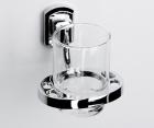 Подстаканник стеклянный WasserKRAFT Oder К-3028