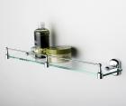 Полка стеклянная с бортиком WasserKRAFT Oder К-3044