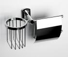 Держатель туалетной бумаги и освежителя WasserKRAFT Oder К-3059