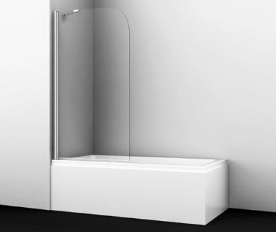 Стеклянная шторка на ванну WasserKRAFT Leine 35P01-80 Fixed (800х1400 мм)