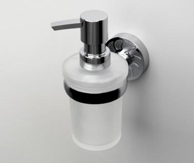 Дозатор для жидкого мыла стеклянный WasserKRAFT Isen K-4099