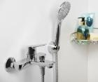 Смеситель для ванны с коротким изливом WasserKRAFT Lippe 4501