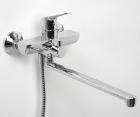 Смеситель для ванны с длинным поворотным изливом WasserKRAFT Lippe 4502L