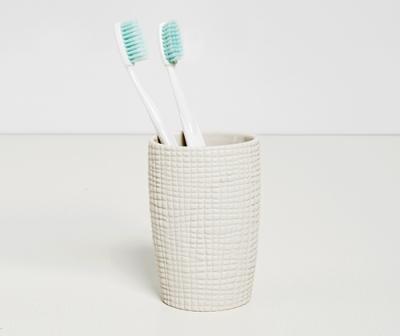 Стакан для зубных щеток WasserKRAFT Dinkel K-4628