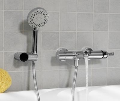 Смеситель для ванны с коротким изливом WasserKRAFT Berkel 4801