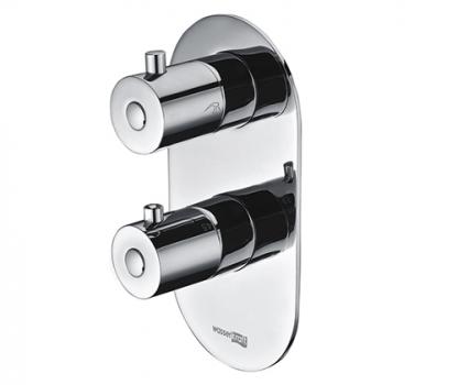 Термостатический смеситель для ванны и душа WasserKRAFT Berkel 4833 Thermo