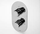 Термостатический смеситель для ванны и душа WasserKRAFT Berkel 4844 Thermo