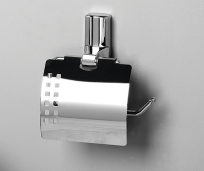 Держатель туалетной бумаги с крышкой WasserKRAFT Leine К-5025