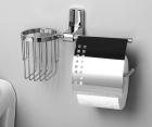 Держатель туалетной бумаги и освежителя WasserKRAFT Leine К-5059