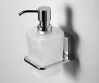 Дозатор для жидкого мыла стеклянный WasserKRAFT Leine К-5099