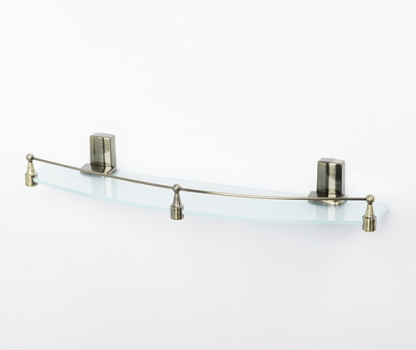 Полка стеклянная WasserKRAFT Exter K-5244
