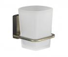 Стакан для зубных щеток стеклянный WasserKRAFT Exter К-5228