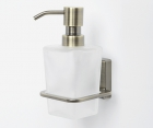 Дозатор для жидкого мыла стеклянный WasserKRAFT Exter К-5299