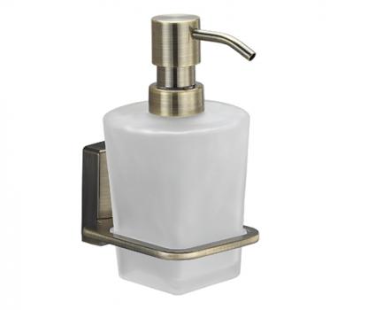 Дозатор для жидкого мыла стеклянный WasserKRAFT Exter K-5299