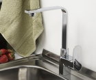 Смеситель для кухни с поворотным изливом WasserKRAFT Dinkel 5807