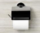 Держатель туалетной бумаги с крышкой WasserKRAFT Rhein К-6225