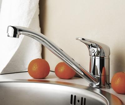 Смеситель для кухни с поворотным изливом WasserKRAFT Oder 6307