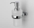 Дозатор для жидкого мыла стеклянный WasserKRAFT Berkel К-6899