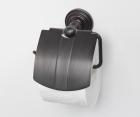 Держатель туалетной бумаги с крышкой WasserKRAFT Isar К-7325