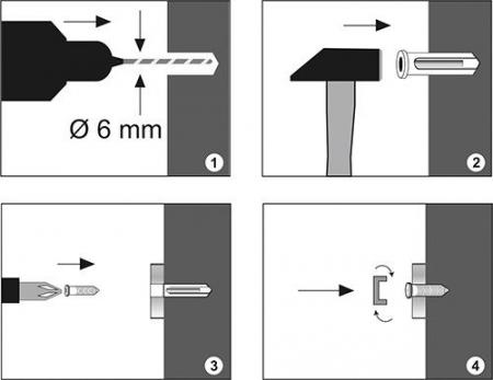 Полка металлическая прямая WasserKRAFT K-744