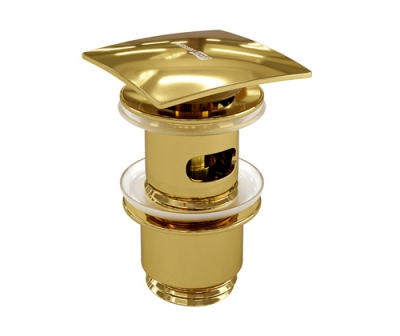 Донный клапан Push-up WasserKRAFT A168