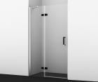 Душевая дверь, распашная на петлях, левая WasserKRAFT Aller 10H05LBLACK (1200x2000 мм)