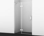 Душевая дверь, распашная на петлях, левая WasserKRAFT Aller 10H05LWHITE (1200x2000 мм)