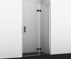 Душевая дверь, распашная на петлях, правая WasserKRAFT Aller 10H05RBLACK (1200x2000 мм)