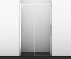 Душевая дверь, раздвижная на роликах, универсальная WasserKRAFT Alme 15R05 (1200x2000 мм)