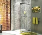 Душевой уголок, квадрат, с универсальной распашной дверью WasserKRAFT Berkel 48P03 (900x900x2000 мм)