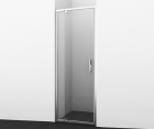 Душевая дверь, распашная, универсальная WasserKRAFT Berkel 48P04 (900x2000 мм)