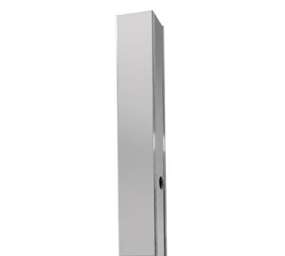 Расширительный профиль для душевых уголков серии Lippe 45S, WasserKRAFT D250