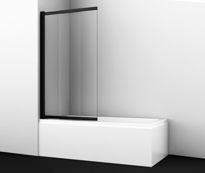 Стеклянная шторка на ванну WasserKRAFT Dill 61S02-100