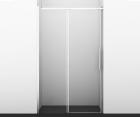 Душевая дверь, раздвижная на роликах, универсальная WasserKRAFT Dinkel 58R05 (1200x2000 мм)