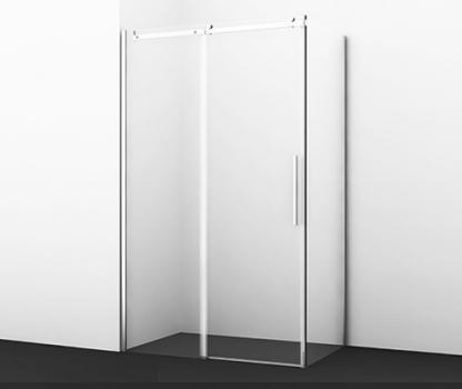 Душевой уголок, прямоугольник, с универсальной раздвижной дверью WasserKRAFT Dinkel 58R06 (1200x800x2000 мм)