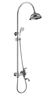 Душевой комплект со смесителем для ванны Timo Adelia SX- 6010/00 chrome