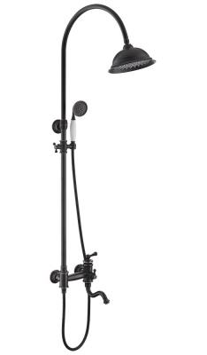 Душевой комплект со смесителем для ванны Timo Adelia SX- 6010/04 black-antique