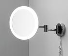 Зеркало с LED-подсветкой, 3-х кратным увеличением WasserKRAFT K-1004