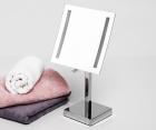 Зеркало с LED-подсветкой, 3-х кратным увеличением WasserKRAFT K-1007