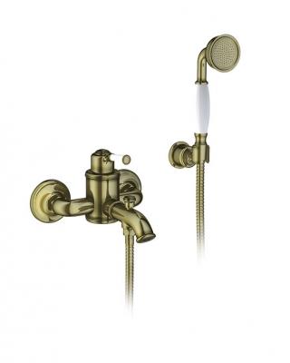 Смеситель для ванны с лейкой Timo Arisa 5314/02Y antique