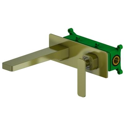 Встраиваемый смеситель для раковины Timo Torne 4371/02SM antique